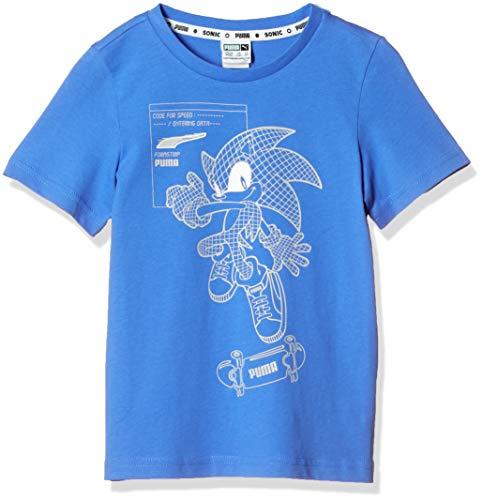 PUMA 59781941 Camiseta, Palace Blue, 92 Unisex niños