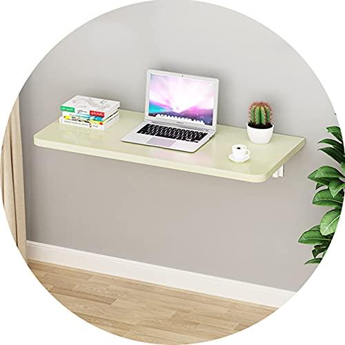 AWSAD Mesa Plegable Cocina Pequeña Mesa en La Pared Mesa Plegable Escritorio Estrecho contra La Pared, Se Pliega en Un Segundo (Color : White, Size : 30X50cm)