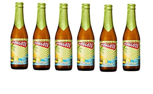 6 Flaschen Mongozo Mango Exotic Beer 3,6% Vol.a 330ml inc. 0.48€ MEHRWEG Pfand Bier + Mango