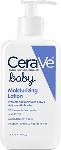 CeraVe Baby Lotion | 8 Ounce | Gentle Baby Skin Care with...
