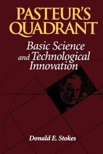 Compare Textbook Prices for Pasteur's Quadrant: Basic Science and Technological Innovation  ISBN 9780815781776 by Stokes, Donald E.