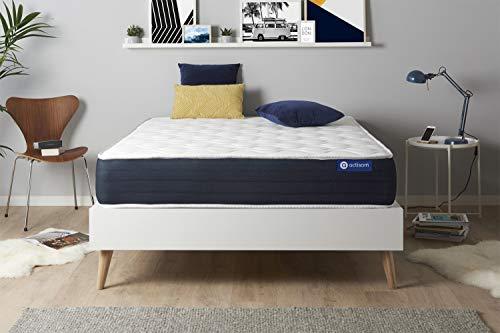 Materasso Actimemo sleep 120x210cm, Spessore : 22 cm, Memory foam, Bilanciato, 5 zone di comfort