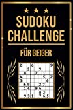 SUDOKU Challenge für Geiger: Sudoku Buch I 300 Rätsel inkl. Anleitungen & Lösungen I Leicht bis Schwer I A5 I Tolles Geschenk für Geiger