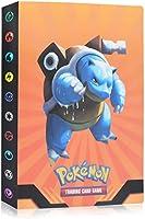 Funmo Álbum de Pokemon, 30 páginas-120 Tarjetas Individuales o 120 Tarjetas Dobles, La Mejor protección Pokemon Cartas...