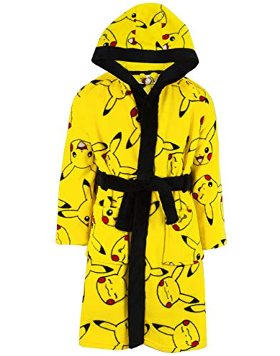 Pokemon Bademantel Pikachu Yellow Kids Pocket Bademantel