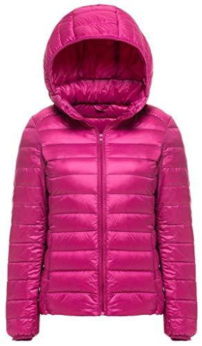 Nvfshreu korte damesmantel winter lichte effen kleuren met lange mouwen donsjas zijzakken comfortabele maten rits warme capuchon mantel hoogwaardige bovenkleding