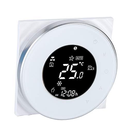 Byged Termostato a Pavimento Nuheat, termostato Domestico, Riscaldamento a Pavimento per Riscaldamento Elettrico per Controllare Il regolatore di Temperatura WiFi