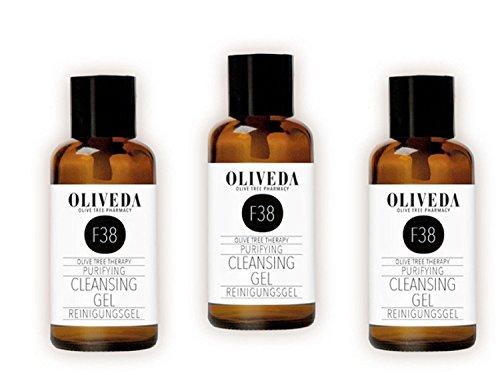Oliveda Klärendes Reinigungsgel TRIO - 3 x 30ml