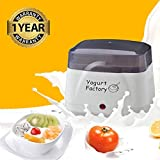 Yogurt Maker Machine | BPA-Free Storage Container & Lid | Perfect for Organic, Sweetened, Flavored,...