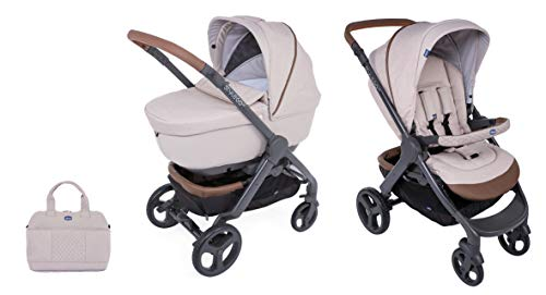 Chicco Duo Stylego Up Crossover (Sportwagen + Kinderwagenaufsatz), beige