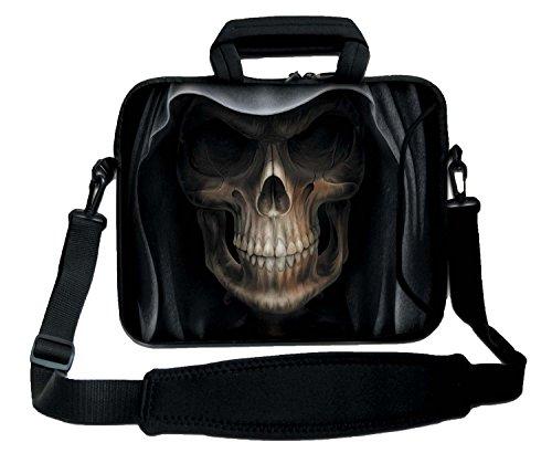 Luxburg® 12,1 Zoll Schultertasche Notebooktasche Laptoptasche Tasche mit Tragegurt aus Neopren für Laptop/Notebook Computer