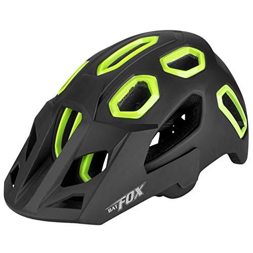 BESPORTBLE Fahrradhelm Erwachsenen Fahrradhelm für Männer Frauen Rennrad Mountainbiken Urban Commuter Inlineskaten Reiten Kopfbedeckung (Schwarz)