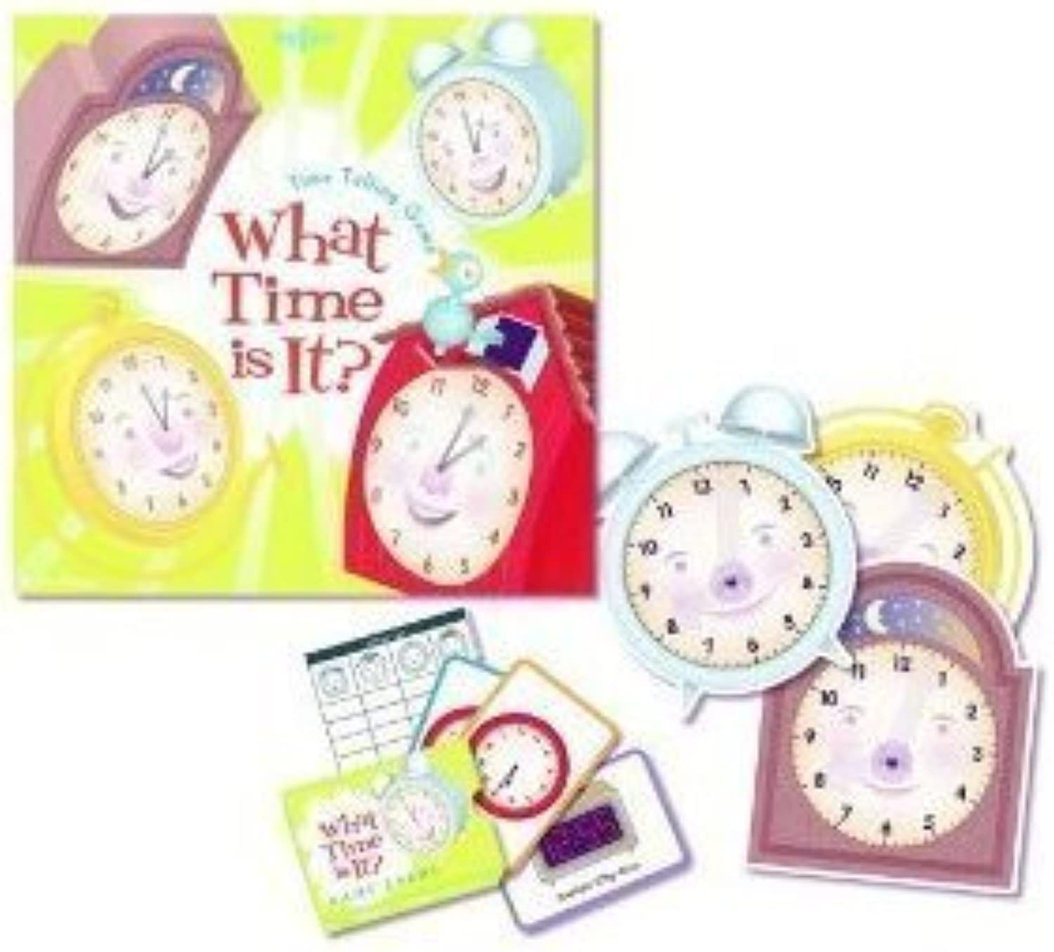 Time Telling Game by Eeboo