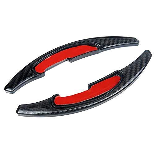 WOLDce Paleta de Cambio de Fibra de Carbono, Compatible con BMW M Series M2 M3 M4 M5 M6 X 5M X6M