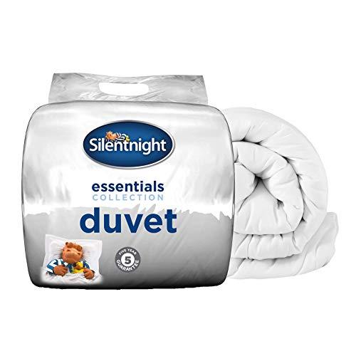 Silentnight Essential 15 Tog Duvet, White, King