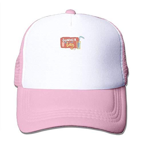 Summer Bar Unisex Mesh Baseball Cap Dad Caps Fashion Baseball Cap
