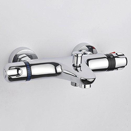hiendure Spültischmischbatterie Thermostat Bad/Dusche Ventil Trim Modern 0205