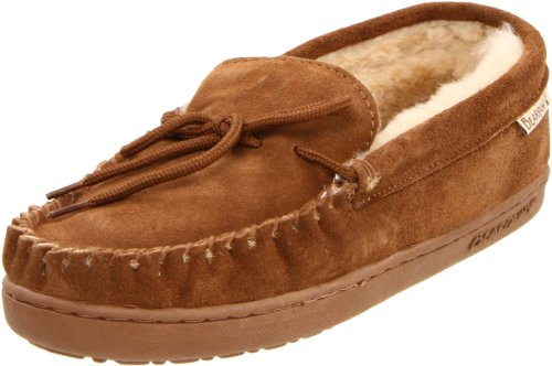 BEARPAW Men's Moc II Slippers Hickory 9.5