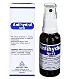 Antihydral Spray 30mL w/ Salvia-Sage Herb Oil. Keep Sweaty Hands, Armpits, Foot & Genital Skin Areas Dry. Antiperspirant & Anti-Sweat Protection for Men & Women