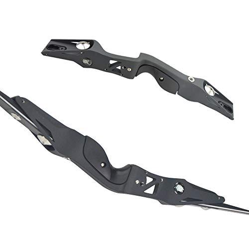 MILAEM 17 Zoll Bogenschießen Bogen Riser ILF Magnesiumlegierung Takedown Recurve Bogen Griff Rechtshänder Outdoor Jagd