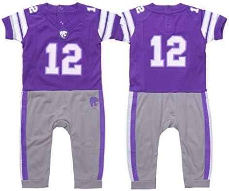 FAST ASLEEP NCAA Opening large release sale Boys Infant Football Detroit Mall Pajamas Uniform