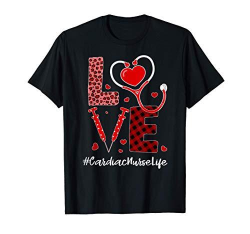 Tu Love Stethoscope Heart Cardiac Nurse Valentines Day T-Shirt
