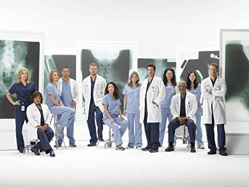 Greys Anatomy Poster auf Seide/Siebdrucke/Tapete/Wanddekoration 138862564