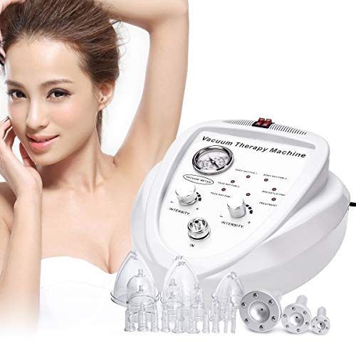 Titoe Vacuum Therapy Machine Massage Body Shaping Lymph Drainage Spa Skin Rejuvenation Machine with 30 Cups and 3 Pumps