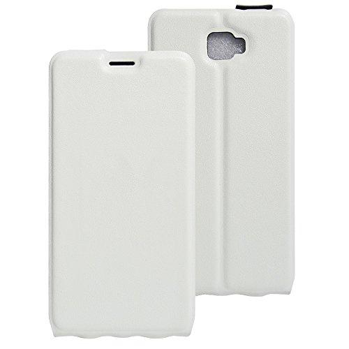 Litao-Case CN Hülle für Archos 55 Cobalt Plus hülle Flip Leder + TPU Silikon Fixierh Schutzhülle Case 4