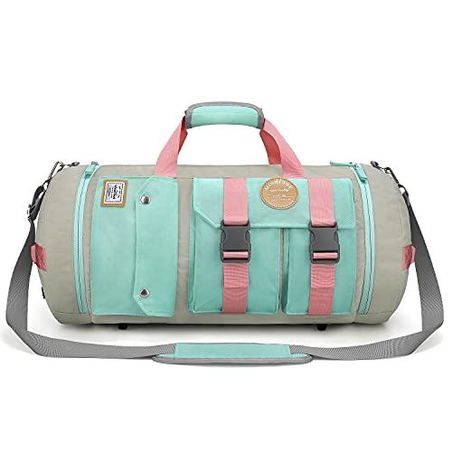 WindTook 40L Sporttasche Groß Fitnesstasche Reisetasche Gym Bag Duffel Bag Rucksack 2 in 1 WeekenderTrainingstasche Travel Bag Tanztasche für Sport Fitness Yoga...