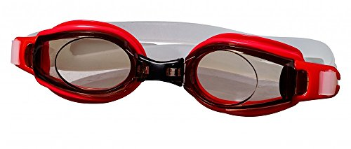 Best Sporting Schwimmbrille Stonefish, blau oder rot, Farbe:rot