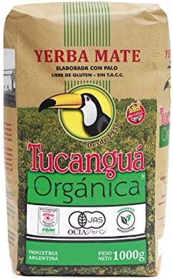 Tucangu Organic Yerba Mate Loose Leaf Tea Traditional South American Tea Drink 2 2 lb 1 kg product image
