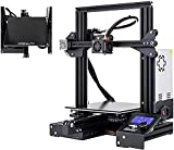 Creality Ende 3 X 3Dプリンター 印刷サイズ220x220x250mm + 強化 ガラ ス ベッド プラットホーム 停電復帰 家庭用 教育用 DIY 3D Printer 工場直販