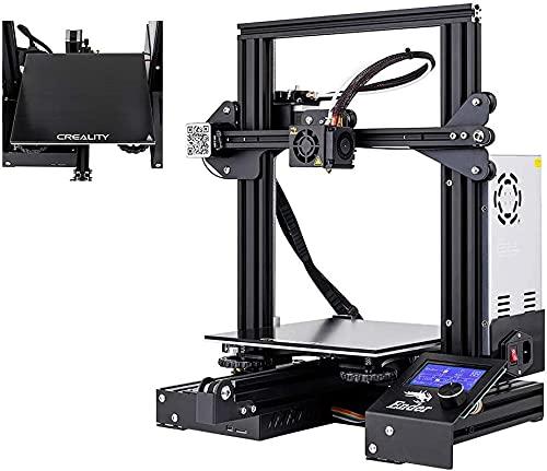 Comgrow【Ender-3X】3Dプリンター DIY キット 未組立 高精度印刷 停電回復機能 組立簡単 最大印刷サイズ 22...