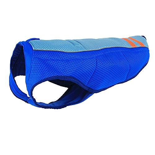 Chaleco de refrigeración para Perros de Verano Abrigo de refrigeración Transpirable Chaqueta de protección Solar para Exteriores Ropa refrescante Ropa Fresca para Perros Ropa para Mascotas