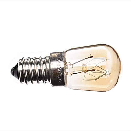 gilivableskr Bombilla del Horno E14 15W 25W Lámpara De Tungsteno hasta 300 Grados Effectual