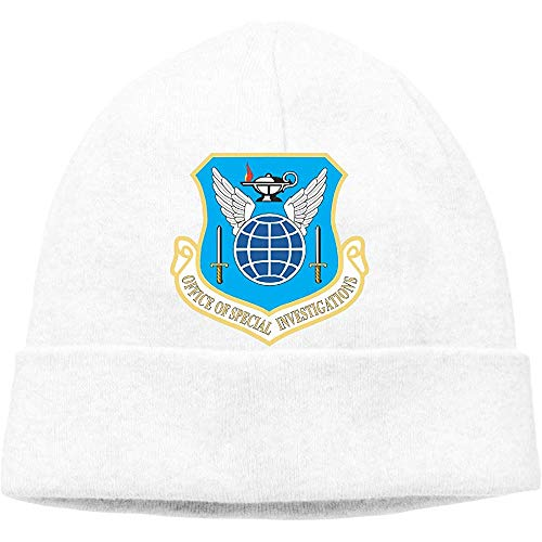 LinUpdate-Store Air Force Office of Special Unisex muts Soft Stretch Beanies Skull Cap Warme winter-herfstmuts