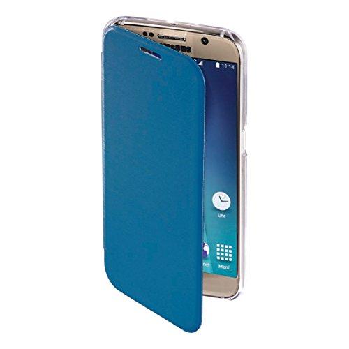 Hama Clear Handy-Schutzhülle Folio Blau - Schutzhülle (Folio, Samsung, Galaxy S7, Blau)