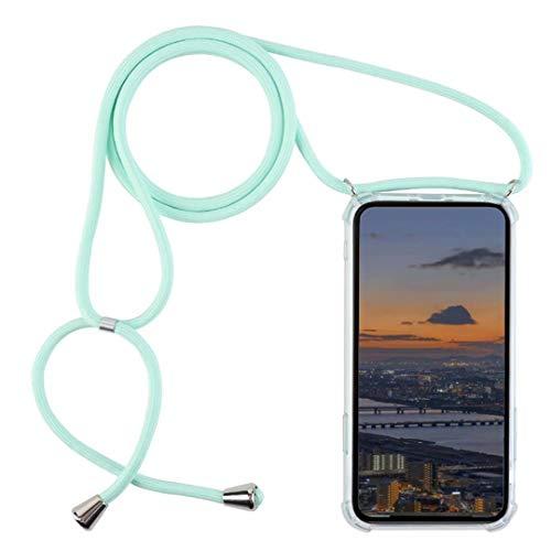 DigerUK Funda para Compatible with Samsung Galaxy S7 Suave TPU Caucho de Silicona Case con Correa Colgante Ajustable.
