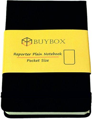 Cuaderno de tapa dura Reporter (92 x 143 mm), color negro