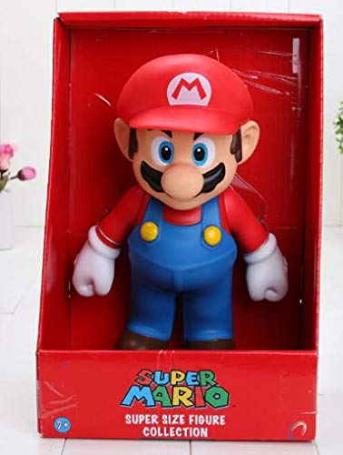 Figura Super Mario Bros muñeco de 23 cm Juguete
