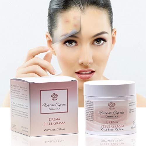 Gesichtscreme Für Fettige Haut - Helfen Die Produktion Von Talg Zu Reduzieren Und Verleihen Der...