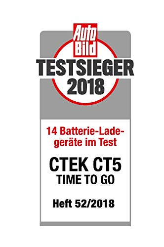 CTEK CT5 Time To Go Battery Charger And Maintainer, Know When The Battery Will Be Charged Fully automatic.