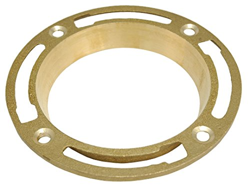 Product Image of the Brass Spigot Closet Flange, 4-Inch - By PlumbUSA 50702