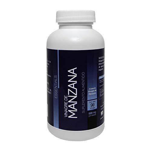 VINAGRE DE MANZANA 90 CAPSULAS DE 600mg