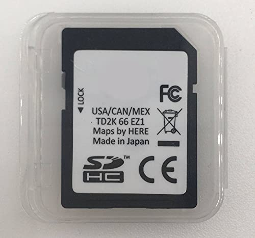 TD2K66EZ1 2021 Mazda CX-5 and CX-9 Navigation SD Memory Card for GPS OEM Part # TD2K-66-EZ1 FITS 2021 CX5 2021 CX9