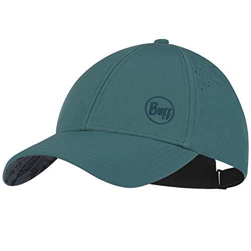 Buff Trek Cap Baseball Cap + Ultrapower Schlauchtuch   Damen   Herren   Wanderhut   Mütze   Kopfbedeckung   Inneres Schweißband   UV-Schutz (Hawk Blue S/M - 125332.707.20.00)