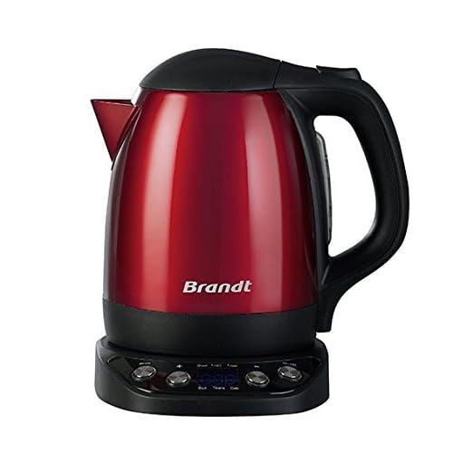 Brandt BO1200ER Bouilloire Inox Rouge 2200 W