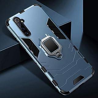 جراب واقي خلفي بحامل السيارة - Capa for Realme 6 X50 5G X2 Pro لهاتف oppo Find X2 Pro A92S A52 A92 A72 ACE 2 A9 2020 A91 (...