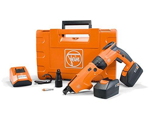 FEIN 71131462240 ASCT14M/N24 50H Cordless Dry Wall Screw Driver, 18 V, Orange